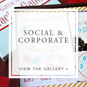 From elaborate nonprofit galas to intimate dinner parties, we will create the perfect invitation to convey the overall theme of the event. There's no event too big or too small.