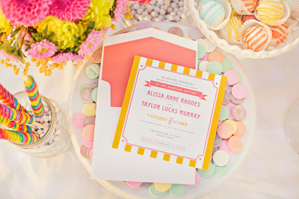 Southern-weddings-Southern-wedding-ideas-Southern-Fried-Paper-state-fair-stationery
