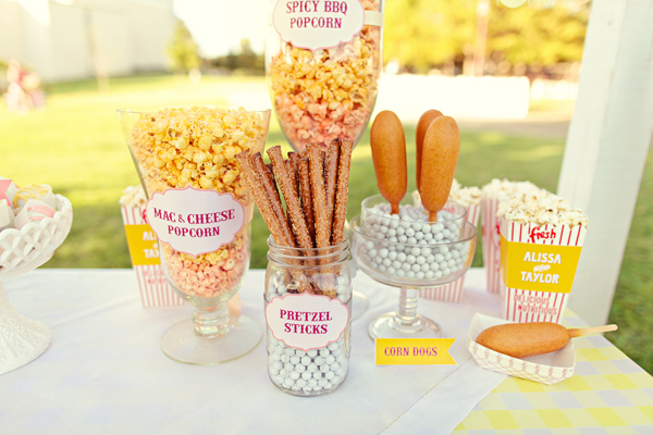 Southern-weddings-Southern-wedding-ideas-state-fair-wedding-snack-bar-inspired-dessert-bars