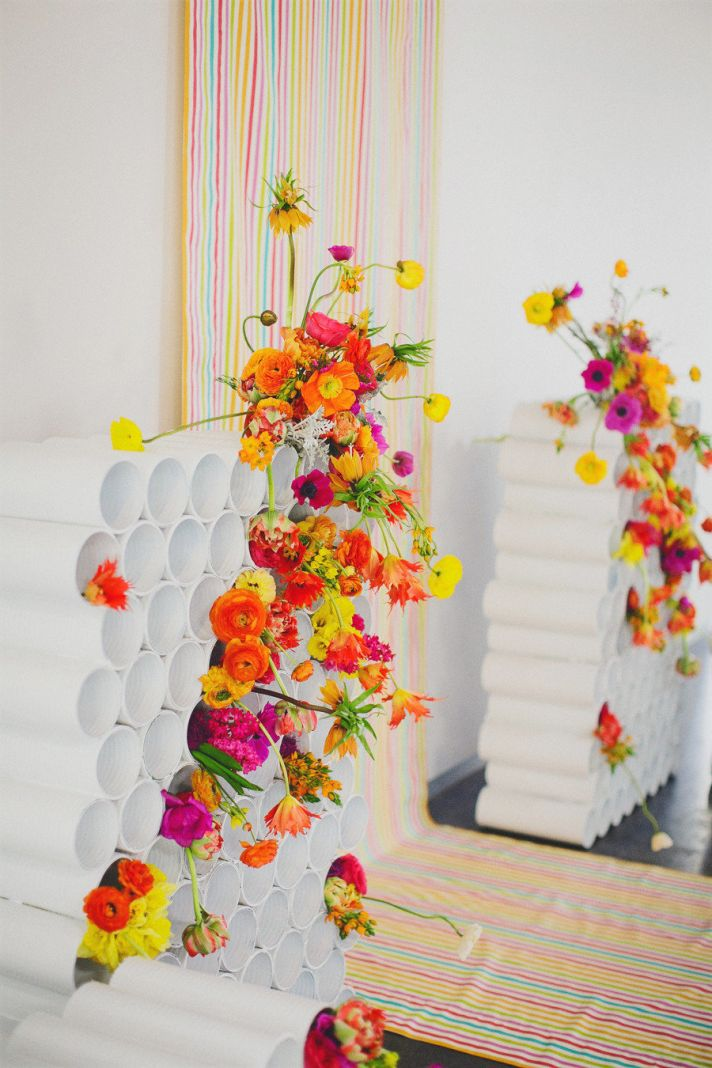 rainbow-neon-wedding-backdrop-with-bright-bold-flowers__full